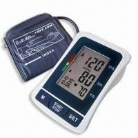 China Digital Blood Pressure Monitor with Arm-type, Date/Time Stamp and Deluxe Carry Case factory
