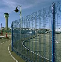 Buy cheap Hot - dipped coated Mesh Panel Fencing / security fence panels from Wholesalers