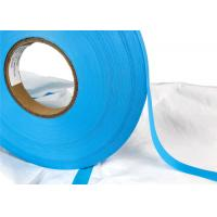 China Hot Air EVA Seam Sealing Tape Double Layer Polymer 0.17mm Blue PEVA 200m / Roll factory