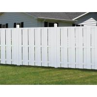 Buy cheap Outdoor Composite Privacy Fence Panels And Grid For Courtyard / Garage from Wholesalers