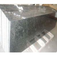 Buy cheap Rectangular Butterfly green granite counter top from Wholesalers