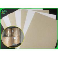 Buy cheap 250GSM 300GSM Coated Duplex Board / Clay Coated One Side Paper Roll For Making Moon Cake Box from Wholesalers