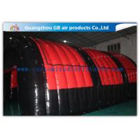 Buy cheap Airtight Inflatable Air Tent Shelter for Outdoor Running Games 0.9mm PVC Tarpaulin from Wholesalers