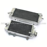 China Hand Welded Aluminum MX Motorcycle Radiators Radiator For KAWASAKI KX450F KXF 450 on sale