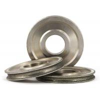 Buy cheap Diamond Coated Abrasive Grinding Wheel For 3 - 12mm Glass Round N Straight Edge from Wholesalers