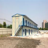 China 2 floors C steel contemporary prefab homes use 25 years for dormitory factory