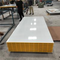 China 1150-50-426mm greywhite hollow core mgo sandwich panel for clean room factory