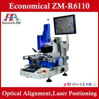 "Buy cheap Zhuomao ""lead solder"" machine a solder bga rework station with optical and laser from Wholesalers"