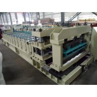 Buy cheap Steel Rollers Step Tile Roll Forming Machine Automatic for Metal Tile from Wholesalers