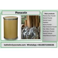 Buy cheap Pain Killer Phenacetin Pharma Raw Powder 62-44-2 For Fever Reducing from Wholesalers