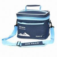 China Lunch Cooler Bag with Aluminum or PVC Insulation, Made of 600D Polyester factory