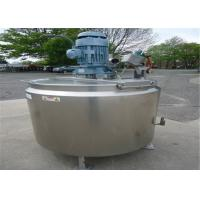 1000L 2000 Gallon Stainless Steel Tank , Heated Stainless Steel Tank For Food Beverage