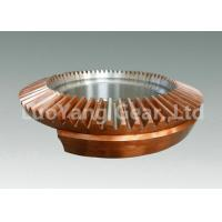 Buy cheap Professional Casting Copper Straight Bevel Gear With CNC Machining Service from Wholesalers