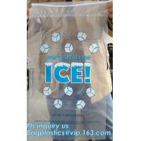 Buy cheap BIO-DEGRADABLE, Commercial Ice Bags, Poly Ice Bags, Metallocene Bags, Plastic Twist Tie Ice Bags, Customized Retail Ice from Wholesalers