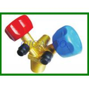 Customize Brass Air Conditioner Freon Refrigerant Control Valve , FRA-00