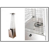 Buy cheap Anti Tip Portable Pyramid Flame Patio Heater With Wheel Stand Up Style from Wholesalers