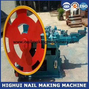 China Dia of nail max:4.5mm,min:2.8mm, Length of nail max:100mm;min:50mm Automatic Nail Making Machine factory