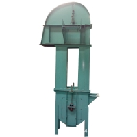 China Carbon Steel Chain Type Bucket Elevator 800m3/h Conveying Hoisting Machine factory