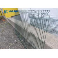 China Decorative Welded Wire Fence Panels Corrosion Resistant Simple Structure With Bendings on sale