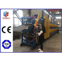 China Full Automatic Rubber Sheet Cooling Machine , 380/50Hz Rubber Batch Off Machine factory