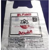 China poly carrier, t shirt bag, rubbish bags, handy bags, handle bags, shopper, LDPE, HDPE, MD factory