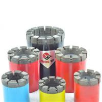 Buy cheap Q-series Diamond Core Bit Set Hard Matrix Diamond Core Drill Bits for Rock / from wholesalers