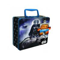 China Disney Star Wars Puzzle Tin with Handle factory