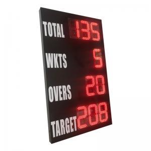 China Outside Model Portable Cricket Scoreboard , Electronic Cricket Scoreboards factory
