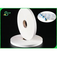 Buy cheap 28gsm Cigarette Paper Roll For Paper Straws 100% FDA Biodegradable 27MM 32MM from wholesalers