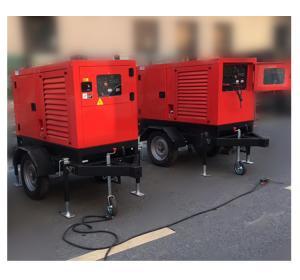 China 500Amps MMA / TIG Wdiesel Generator Welding Machiner IP23 10kva Mobile Trailer factory