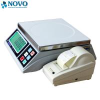 Buy cheap White Digital Pricing Scale Large LCD Display Weigh Check Alarm Easy Counting from Wholesalers