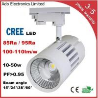 China CREE COB LED Track Light 3 years warranry isolated IC constant driver high PFC CRI lumen factory