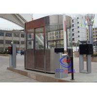 Buy cheap Waterproof Outdoor Indoor Stainless Steel Prefab Guard House , Noise Protection Park Toll from Wholesalers