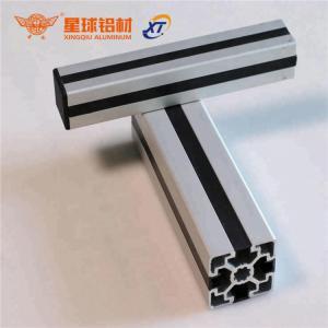 China 3d printer parts v-slot linear rail black anodized 4040 aluminum profile extrusion factory