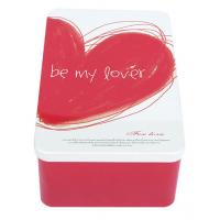Metal Tin Containers As Gifts For Lovers , Tinplate-Material Made Box