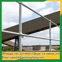 Buy cheap Kununurra steel ball joint baluster used galvanized steel stanchion for village from wholesalers