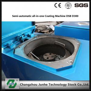 Buy cheap Semi Automatic Metal Coating Line / Zinc Flake Coating Machine Max Capacity 400kg/H from Wholesalers