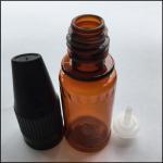 Buy cheap 10ml Amber Eye Dropper Bottles , Medical Grade 10ml Plastic Dropper Bottles from Wholesalers