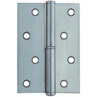 China 270° Take Down Square Door Hinges Stainless Steel With Round Corner factory