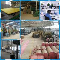 Buy cheap density 24kg/m3 fiber glass wool blanket with fsk mesh from Wholesalers