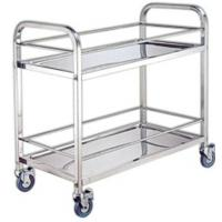 Buy cheap Stainless steel Food Service Cart for food and kitchen tools delivery from wholesalers