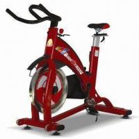 China Spinning Bike/Fitness Equipment with Adjustable Foot Strap and All-steel Press Brake System on sale