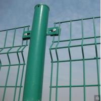 China Triangle Heavy Gauge Wire Fence , Welded Wire Fence Panels Low Carbon Steel on sale
