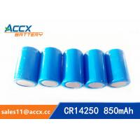 Buy cheap lithium battery cr14250 1/2aa 3.0v 850mAh from Wholesalers