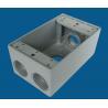 Buy cheap Aluminum Waterproof Electrical Box Weatherproof Receptacle Box Grey Color from wholesalers