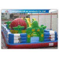 China Kids Inflatable Amusement Equipment / Commercial Inflatable Bouncers For Learning Center factory
