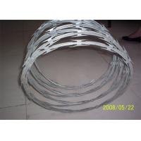 Buy cheap Stainless Steel Razor Barbed Wire Outside Diameter 450 - 960 Mm Excellent Protection from Wholesalers
