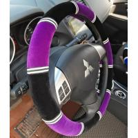 Quality Car steering wheel cover fabric cover car steering wheel cover easy clean for sale