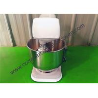 China 7L Sliver Electric Cake Mixer Stainless Steel Gear Driven Drive System on sale