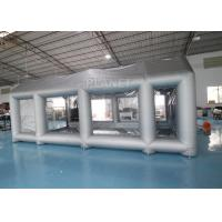 China Silver 7m Length Large Inflatable Auto Paint Booth 3 Years Warranty factory